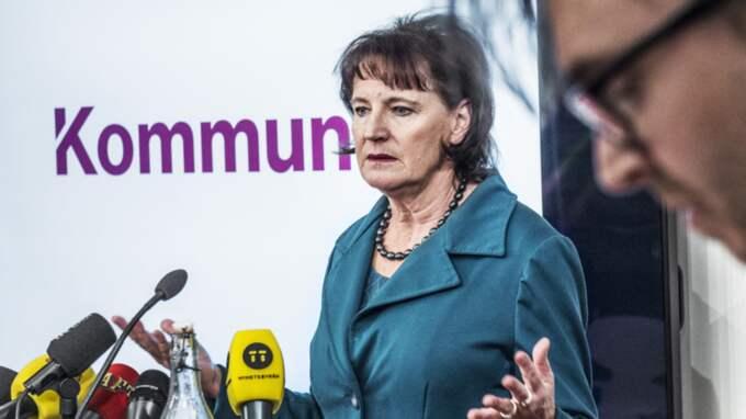 Annelie Nordström, Kommunal. Foto: Tomas Oneborg/Svd/TT