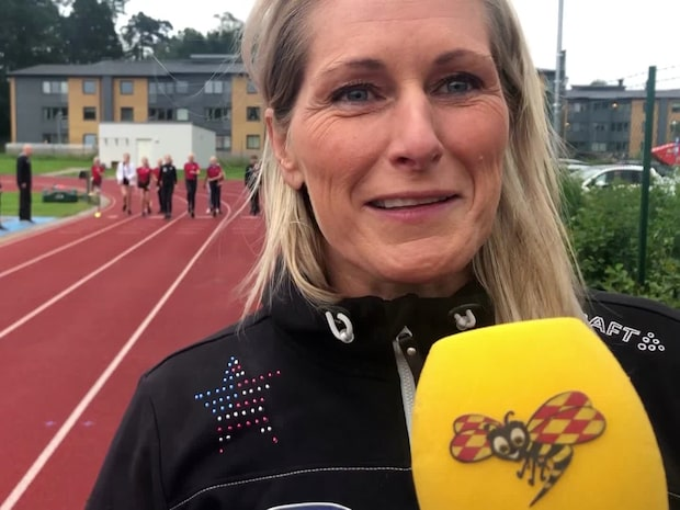 Här tränar Erica Johansson framtidens stjärnor