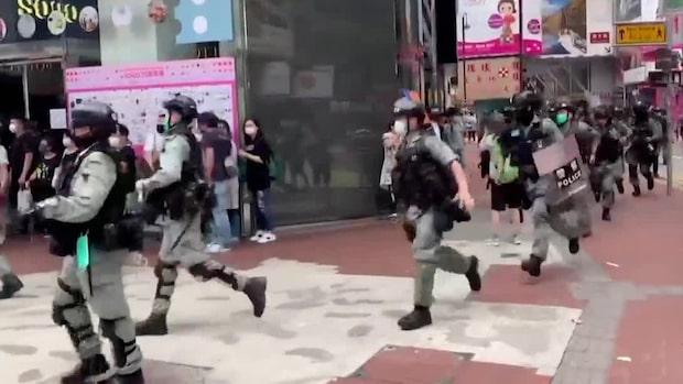 Kina antar säkerhetslag för Hongkong