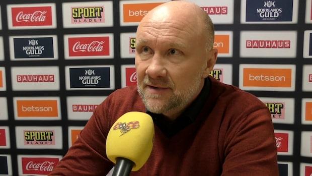 """Peter Andersson: """"Isen är katastrofdålig"""""""