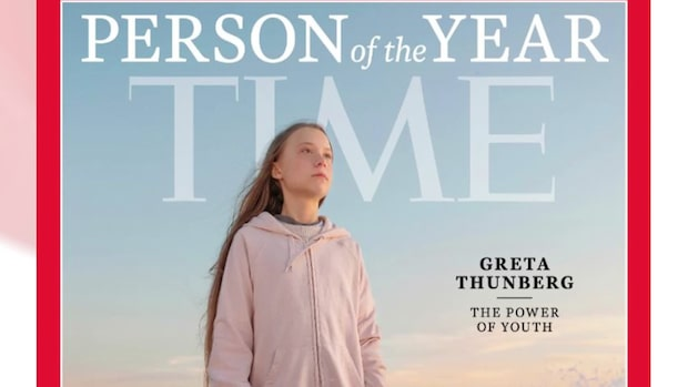 "Greta Thunberg är ""Årets person 2019"""