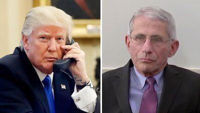 """Telefonsamtalet med Trump: """"Fauci är en idiot, en katastrof"""""""
