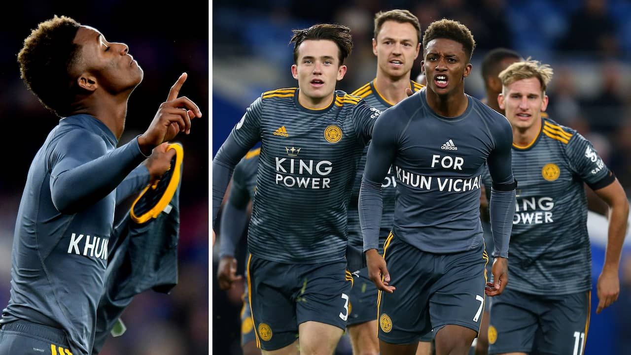 Premier League  Leicester vann – tillägnade målet till klubbägaren cd3f08d8288ab