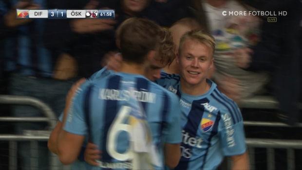 Eriksson upp i skyttetopp - efter dubbla mål