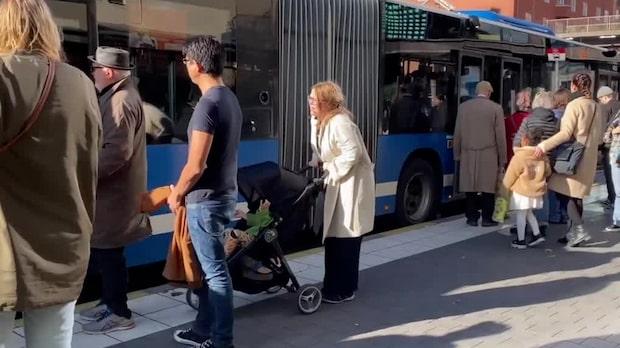 """SL om trängseln: """"Vi har inget ansvar – det ligger på passagerarna"""""""
