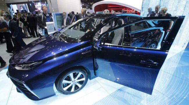 Vätgasbilen Toyota Mirai