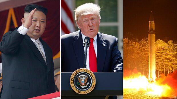 Kims svar på hotet: Vi anfaller Guam