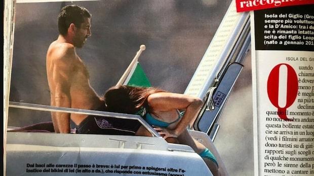 Buffon stämmer tidningen – efter bilden