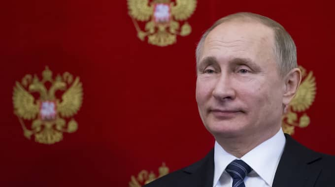 Putin. Foto: Alexander Zemlianichenko / AP TT NYHETSBYRÅN
