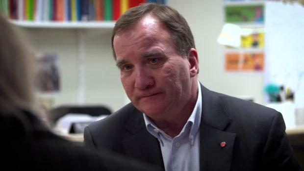 """Stefan Löfven: """"För C och L är det en rejäl omställning"""""""