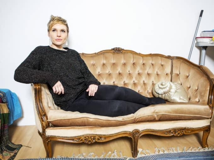 LIGGER INTE LÅGT. Sara Granér, född 1980, är verksam i Malmö. Foto: Ellinor Collin