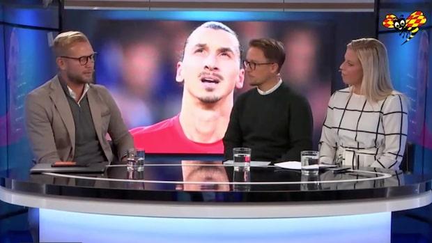 """Zlatan ryktas till United: """"Väldigt bra lösning på kort sikt"""""""