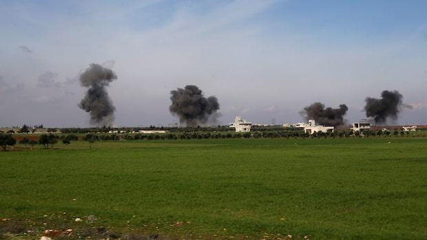33 turkiska soldater döda i attack i Syrien