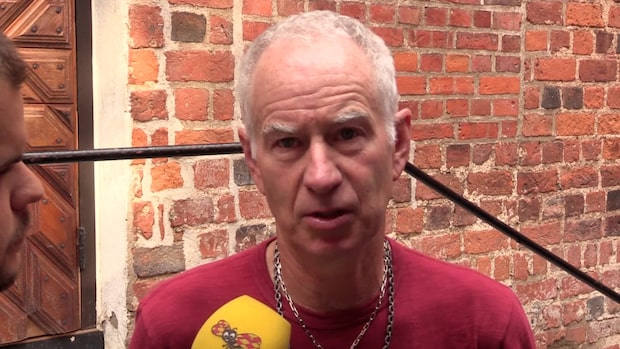 Tennislegendaren John McEnroe på plats inför Svaneholm Open