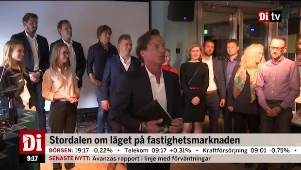 Petter Stordalen om en skakig fastighetsmarknad