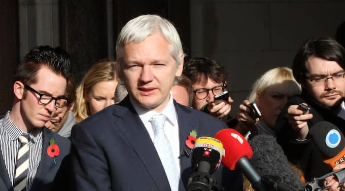 Julian Assange. Foto: Peter Macdiarmid
