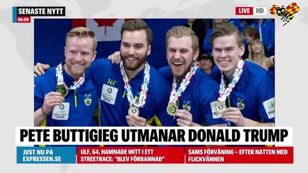 Lag Niklas Edin tog VM-guld i curling