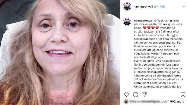 Nanne Grönvall opererad – efter veckor av väntan