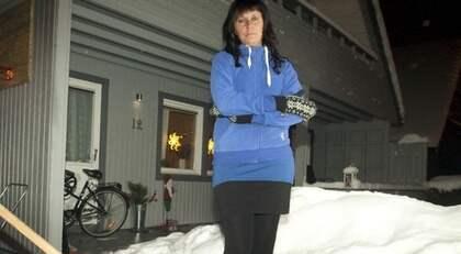 ISKALLT BESKED. Anna Larsson, 34, var på väg tillbaka. Då slog försäkringskassan till nu måste hon ta tjänstledigt för att söka jobb hon inte kan få. Foto: Leif Hallberg