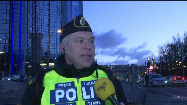 Polisen: Trafiken kommer att påverkas hela dagen
