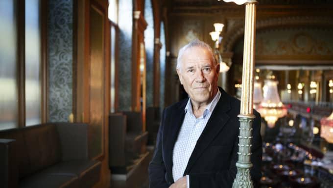 STOL NR 12. Per Wästberg är författare och ledamot av Svenska Akademien. Foto: Caroline Andersson