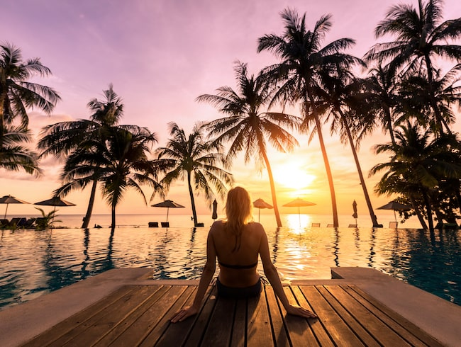 En utlandsresa slår en kärleksnatt, tycker de flesta...
