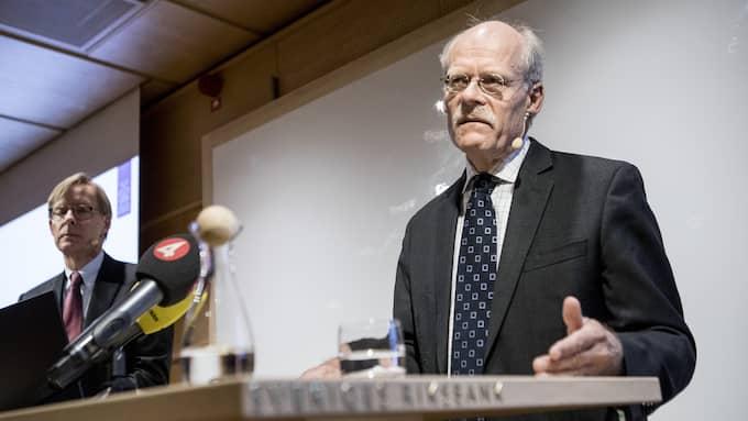 Riksbankens chef Stefan Ingves. Foto: CHRISTINE OLSSON/TT / TT NYHETSBYRÅN