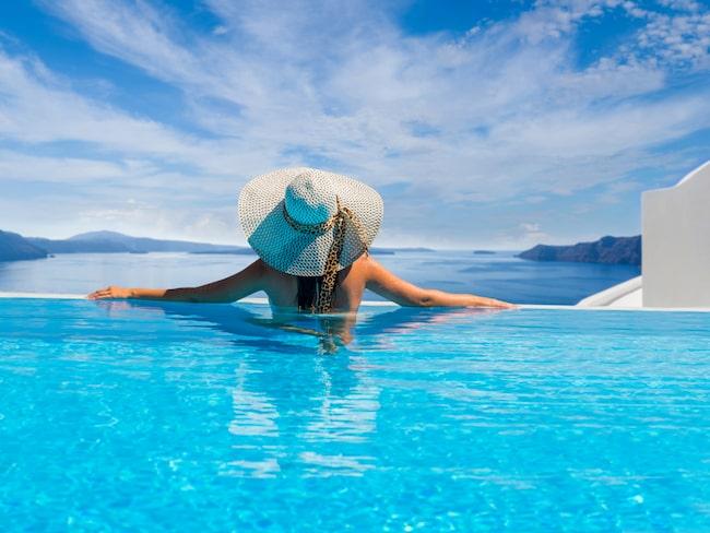 Ett hotell i Grekland har tagit det här med pool på rummet till en ny nivå.