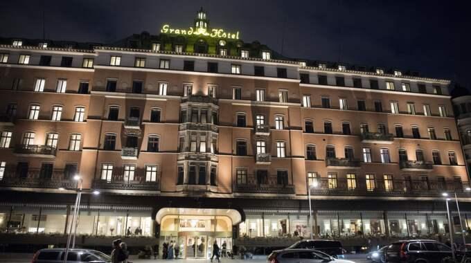 Grand Hotel ångrar nu att man lät Sverigedemokraterna med vänner hålla en prisgala på hotellet. Inte ens Sveriges finaste hotell orkade stå emot nätkampanjer och avbokningar. Foto: Sven Lindwall