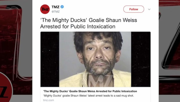 Mighty Ducks-stjärnans förfall: gripen två gånger på ett år