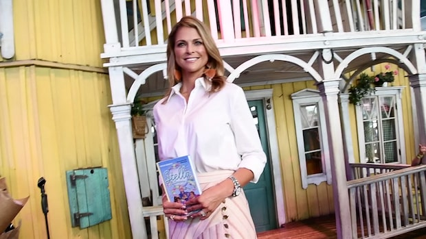 """Prinsessan om sin bok: """"Barn har rätt att säga nej"""""""