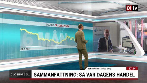 """Dagens börshandel: """"Fortsatt kämpigt för klädhandeln"""""""