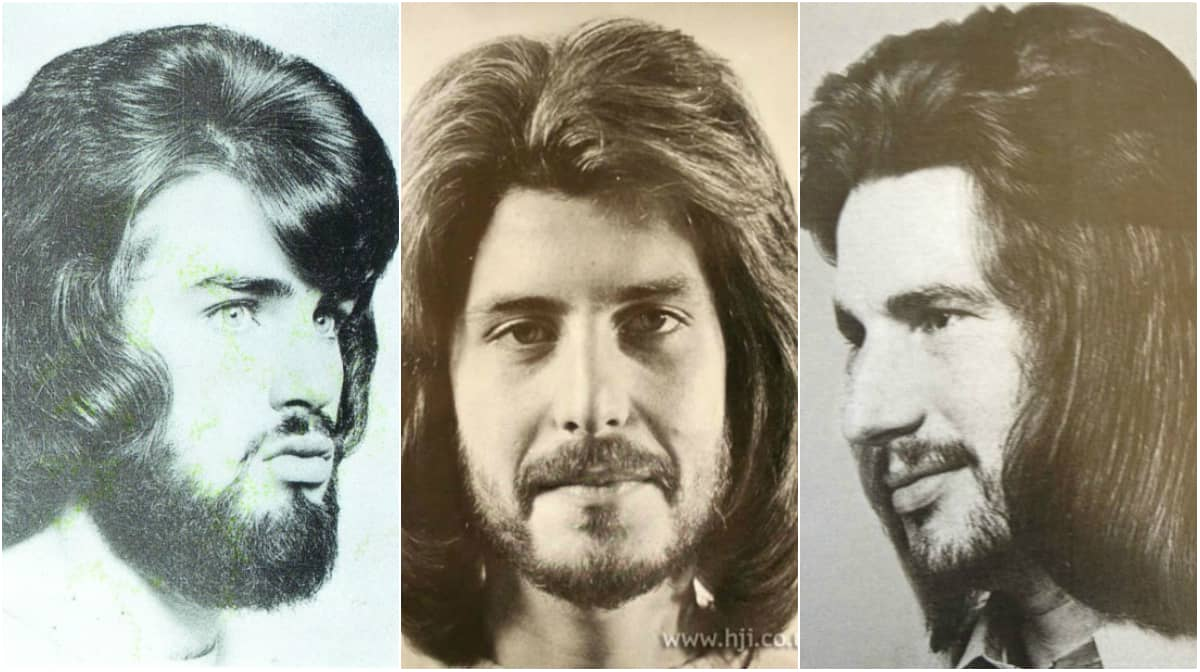 70 tals frisyr kille
