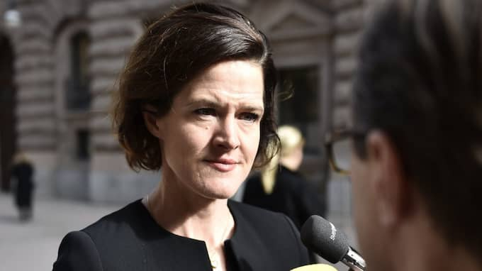 Moderatledaren Anna Kinberg Batra. Foto: Noella Johansson/Tt / TT NYHETSBYRÅN