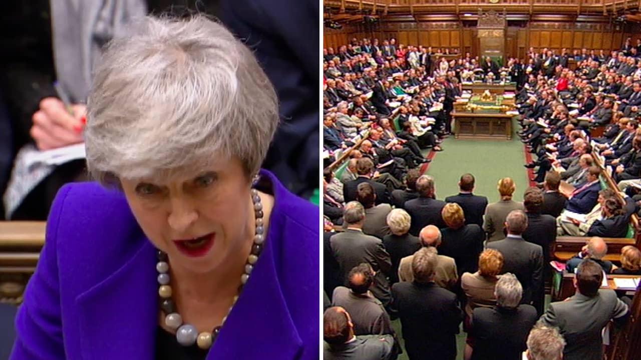 Theresa Mays nya brexituppmaning