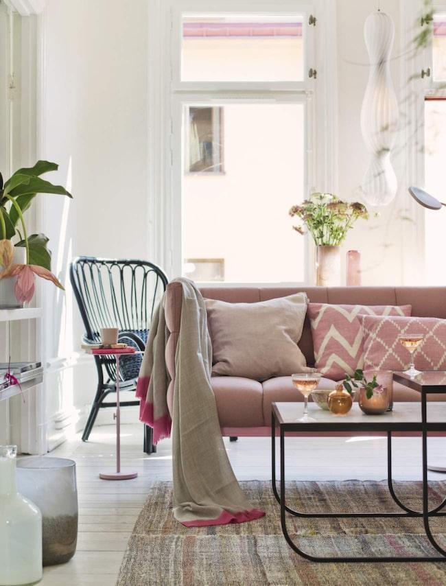 Vardagsrum u2013 pimpa med härliga pasteller Vardagsrum Expressen Leva& bo