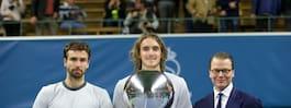 Prins Daniel hyllade  vinnaren på Stockholm Open
