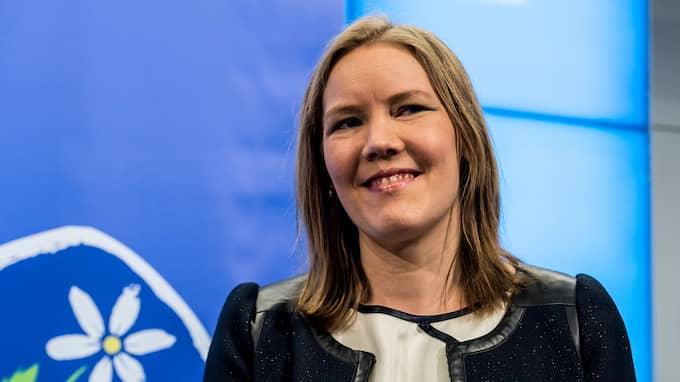 Emma Henriksson, KD. Foto: PELLE T NILSSON / STELLA PICTURES - PELLE T NILSSON