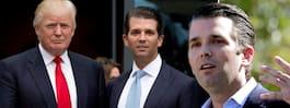 Trumps äldsta son spås  egen karriär som politiker