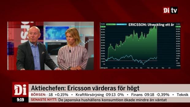 """Aktiechefen om telekomjätten: """"Inte speciellt attraktiv"""""""