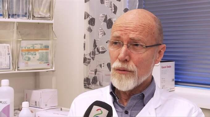 Cancerläkaren och forskaren Øystein Fluge. Foto: TV2 Norge