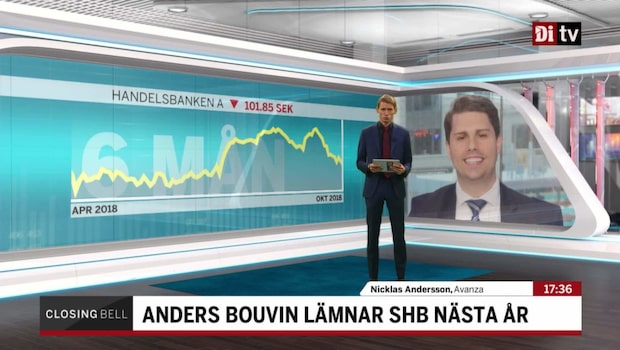 "Andersson om vd-avgången: ""Kanske inte vad Handelsbanken behöver just nu"""