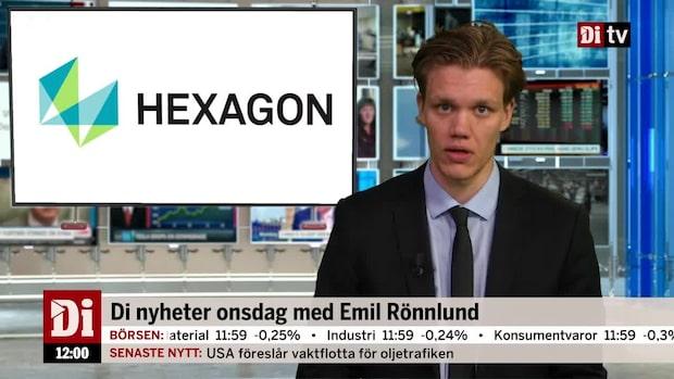 Di Nyheter – Hexagon och Tele2 i botten på röd Stockholmsbörs