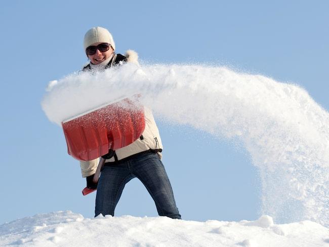 Ta var på och utnyttja snön när den kommer – till tvätt! En av de äldsta konsterna, låt snön tvätta mattan åt dig.