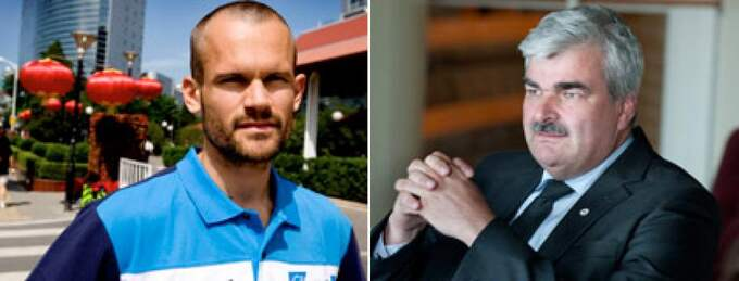 Stefan Holm är Håkan Juholts nya värvning.