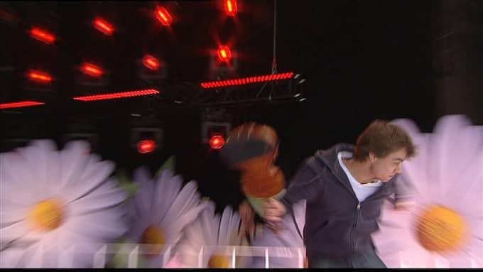 Alexander Rybak förstörde sin fiol på genrepet. Foto: PRIVAT / PRIVAT