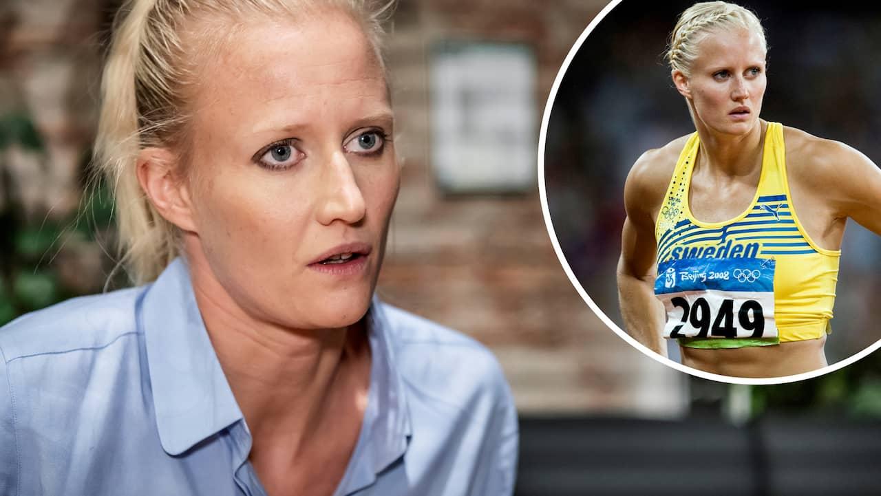 Carolina Klüft åtta i OS – fick mejl tio år senare