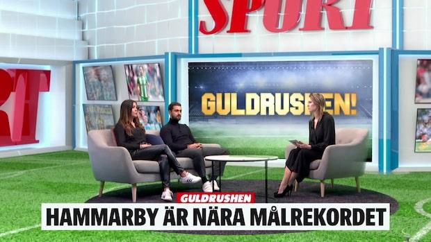 """""""Övertygad - Hammarby kommer ta målrekordet"""""""