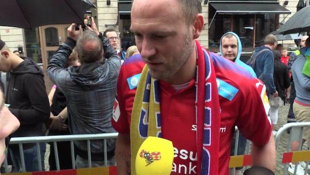 Andreas Granqvist tas emot kungligt i Helsingborg