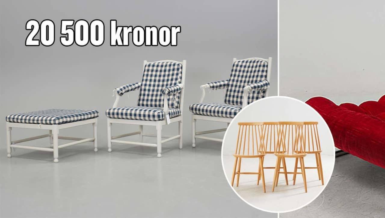 Ikea möbeln såldes för flera hundratusentals kronor – av